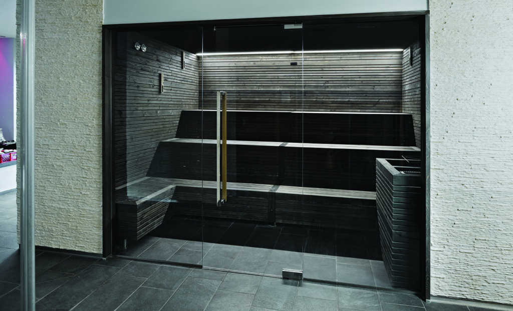 Sauna Black Savu 2